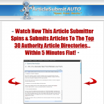 Article Submit Auto thumbnail image