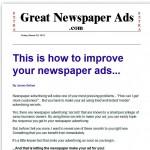 GreatNewspaperAds thumbnail image