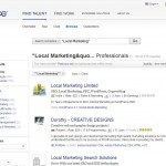 Elance Local Online Marketing Contractors thumbnail image