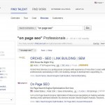 Elance On-Page SEO Contractors thumbnail image