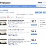 Freelancer Press Release Services thumbnail image