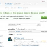 Elance Classified Ad Posting Contractors thumbnail image