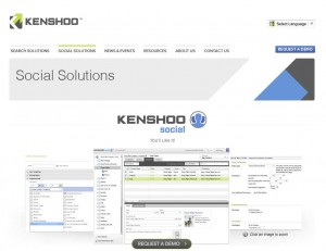 Kenshoo.com FB Ads Management Software page full size image