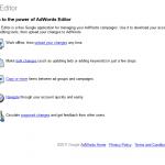 Google Adwords Editor thumbnail image