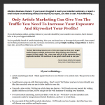 Easy Article Marketing thumbnail image
