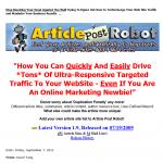 Article Post Robot thumbnail image