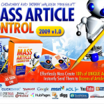 MassArticleControl.com Article Submission software home page full-size image