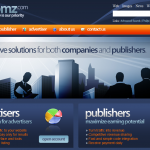 Edomz.com ad network full-size home page image