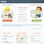 Iwriter.com article writing service home page full-size image