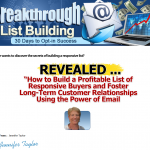 Breakthrough List Building thumbnail image