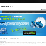LinkWheel.pro link wheel service home page full size image