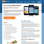 DudaMobile Custom Mobile Website Design thumbnail image