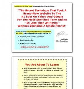 PressReleaseFire.com Press Release Marketing tutorial home page full size image