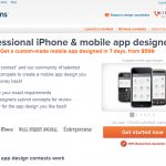 99Designs Mobile App Design thumbnail image