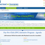 Instant E-Training PPC Course thumbnail image