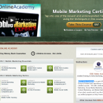 Udemy Mobile Marketing Certificate thumbnail image