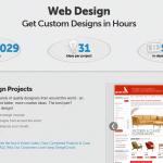 DesignCrowd Landing Page Design thumbnail image