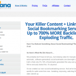 LinkVana Social Bookmarking Service thumbnail image