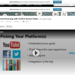 Up and Running with Online Social Video thumbnail image